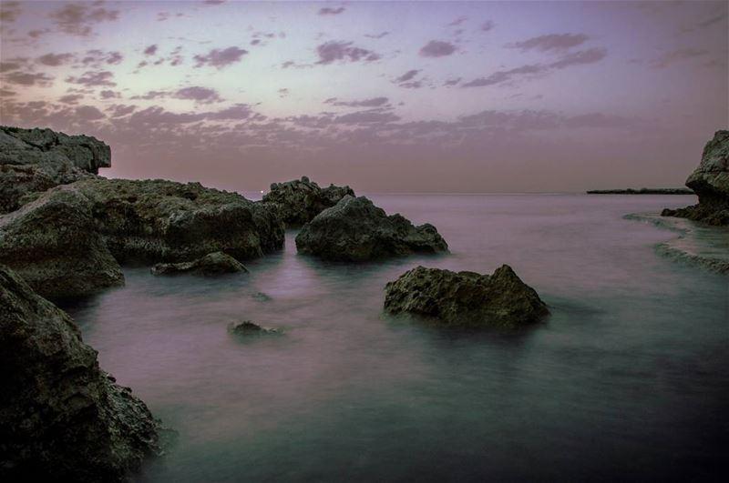 🌅🌅..... sunset exposure longexposure clouds sky beach beachcamp... (Chekka)