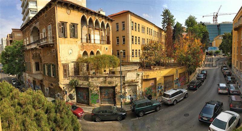 مش قادر تلغي الماضي كلّه🏡و الحاضر مش حاضر محله🏢 vintage new ... (American University of Beirut (AUB))