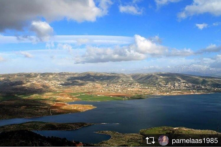 Repost from @pamelaas1985 Yes that's a scenery taken from my beautiful... (Saghbin, Béqaa, Lebanon)
