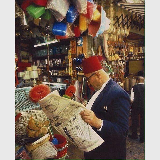 بيروت السوق عام ١٩٦٥ ،