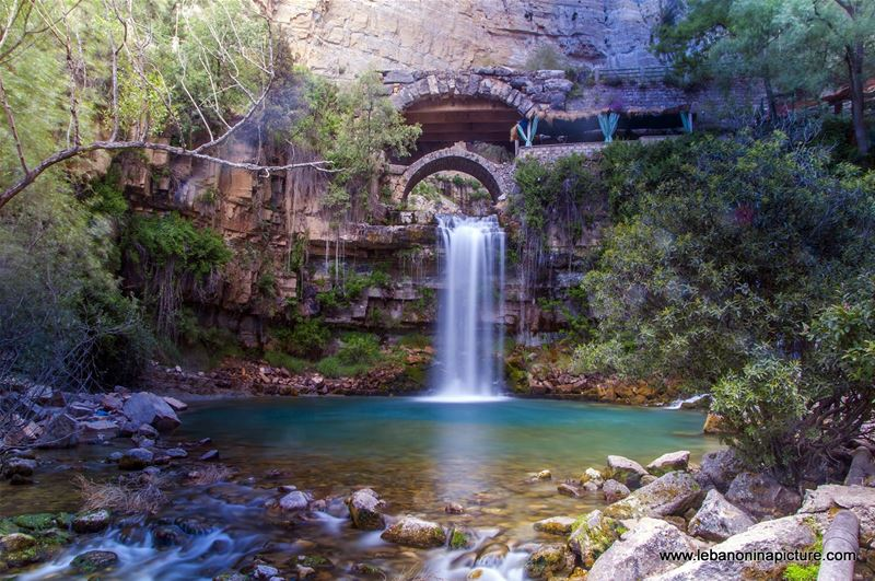 360 Virtual Tour and Photos from the Afqa Water Fall and 2 Roman Bridges