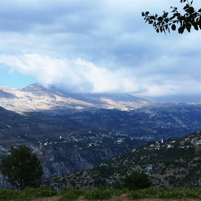 Glimpse of the view you can have while walking HadathElJebbeh roads Save...