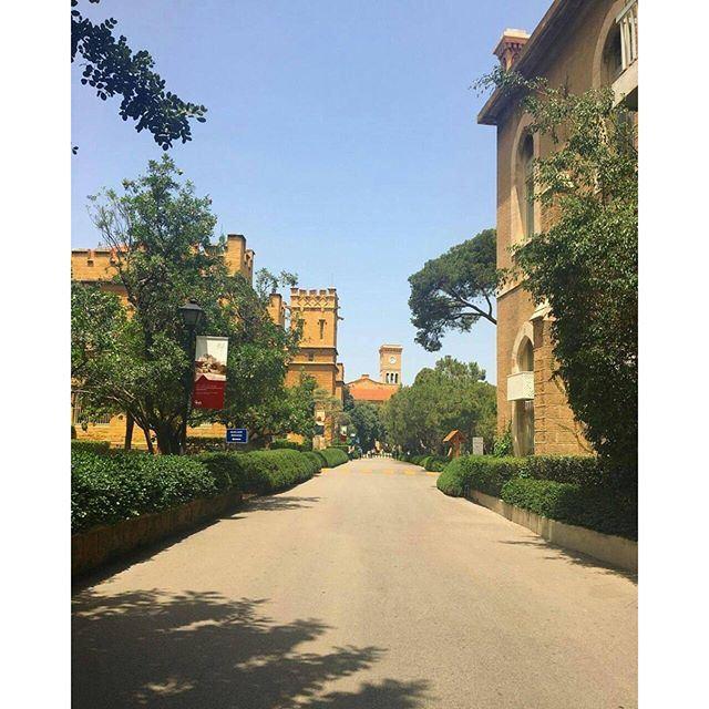 Empty @livelove.aub by @rashaabuhamad (American University of Beirut (AUB))