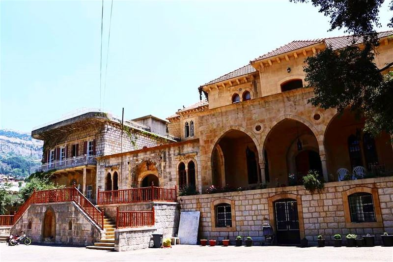 When Alphonse De La Martine visited Lebanon, he stayed at this house at a...