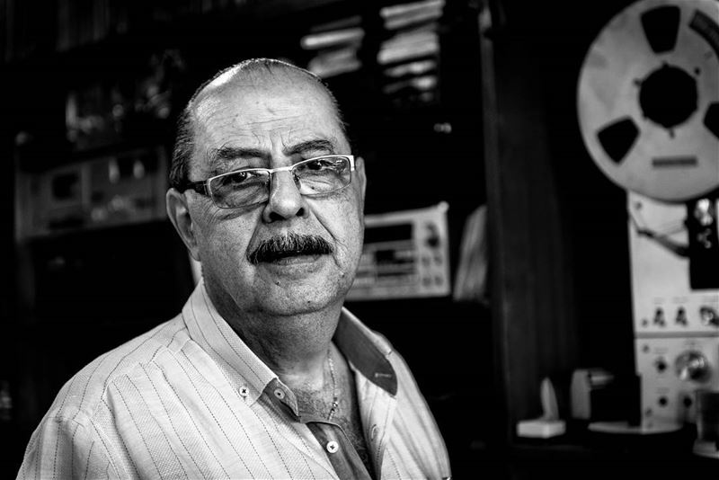 Owner of one the oldest music shop in beirut © Rudy Aoun love artistic ... (Beirut, Lebanon)