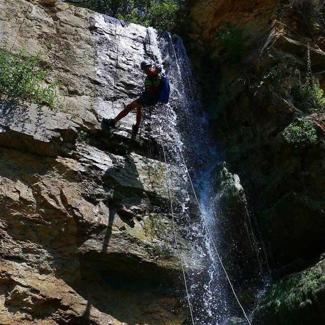 Canyoning is rappelling over waterA unique activity that exists only...