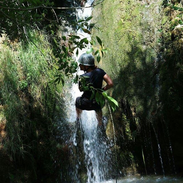Canyoning is rappelling over waterA unique activity that exists only at... (Hammana)