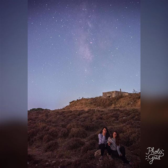 ~ Milky-way among us, falling Stars above us: Let's catch some friendships...