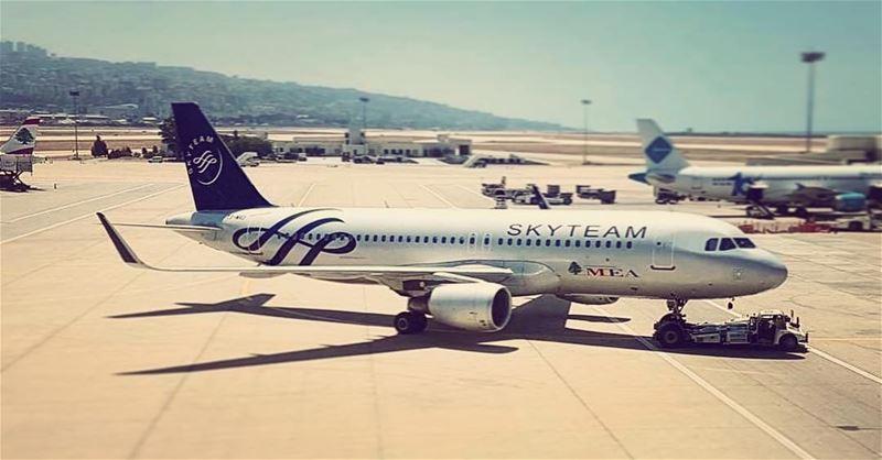 Team Player lounging around leavingonajetplane mea middleeastairlines... (Beirut–Rafic Hariri International Airport)