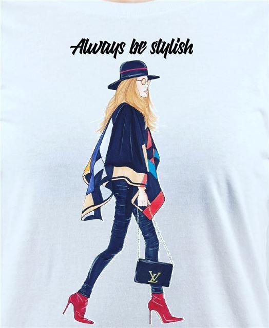 print tshirts stylist be u stylish lvloverthailand lebanon ootd ...