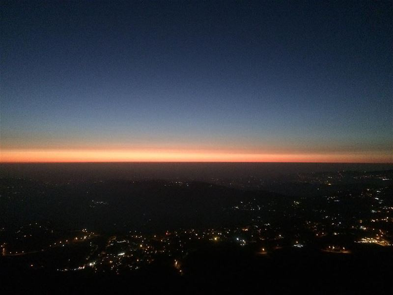 One day I'd like to paint the perfect sunset. If I can only find the words... (Falougha, Mont-Liban, Lebanon)