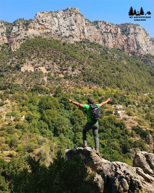 Magical view 🍃🚶 Event this Sunday --> Hiking to Wadi Qannoubine... (Wadi Qannubin, Liban-Nord, Lebanon)