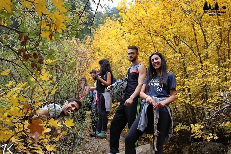 Happy people 😁🚶🍃Have a great week everyone 🙌 myadventureslebanon 📷by (Lebanon)
