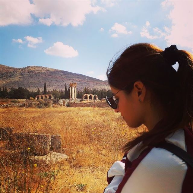 With November everything is new: 🍂~..It's never too late or too early to... (`Anjar, Béqaa, Lebanon)
