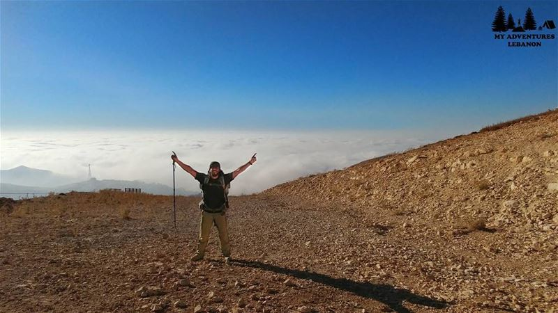 Conquer your Mondays 🙌Have a great week🍃 myadventureslebanon....... (Lebanon)