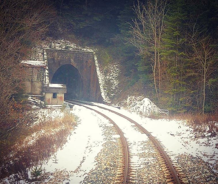 ~..Every Tunnel holds the mystery of a new beginning..~ 🚞🧚🏾♀️ tb ... (Parc national des Ecrins)