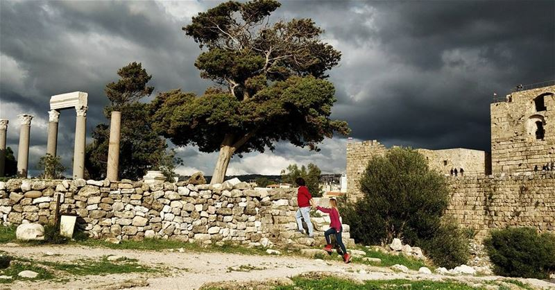 Lebanon is a country I fall in love with. Not because it is the best... (Byblos Castle)
