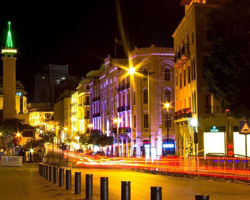 Beirut citylights photography longexposure lebanon lebanon_hdr... (Beirut, Lebanon)