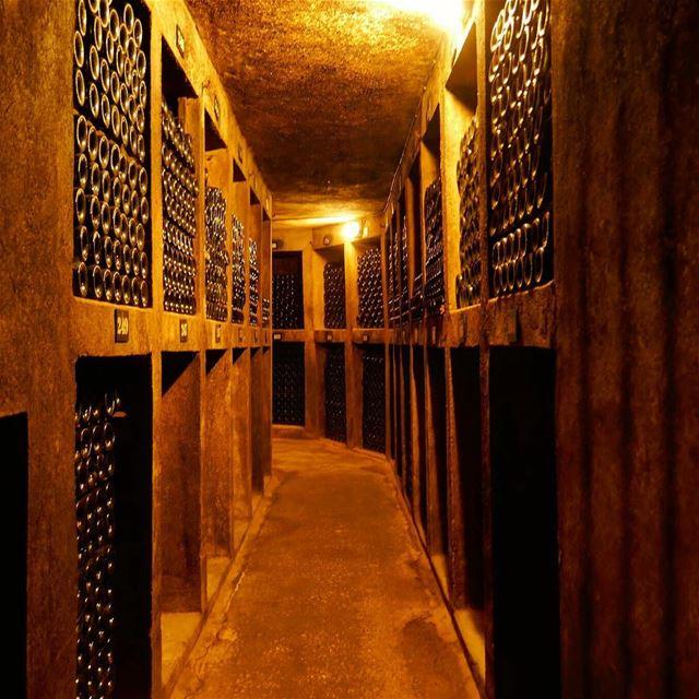 My journey towards the end of 2017 ...🍷 chateauksara winesiflebanon ... (Bois De-Boulogne, Mont-Liban, Lebanon)