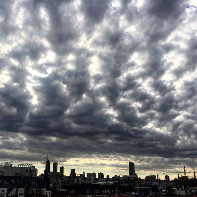 Cloud concentration livelovebeirut hd_lebanon ig_lebanon instagramanet... (Downtown Beirut)