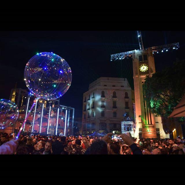 Happy New Year 🎉 @its.events livelovebeirut ... (Beirut, Lebanon)
