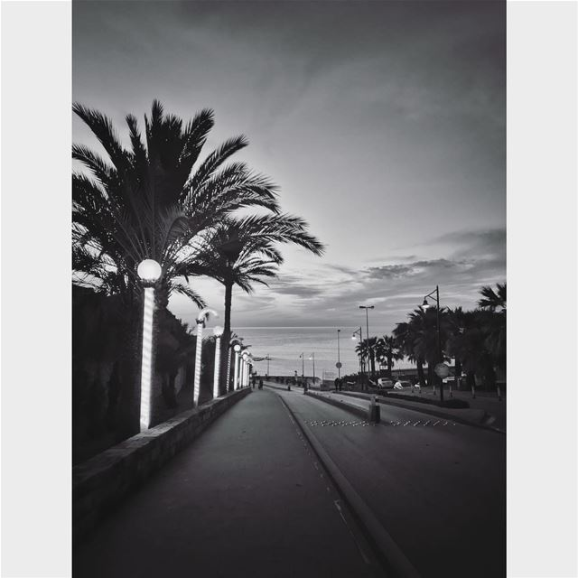 Seven days, seven black and white photos of your daily life. No people, no... (Byblos)