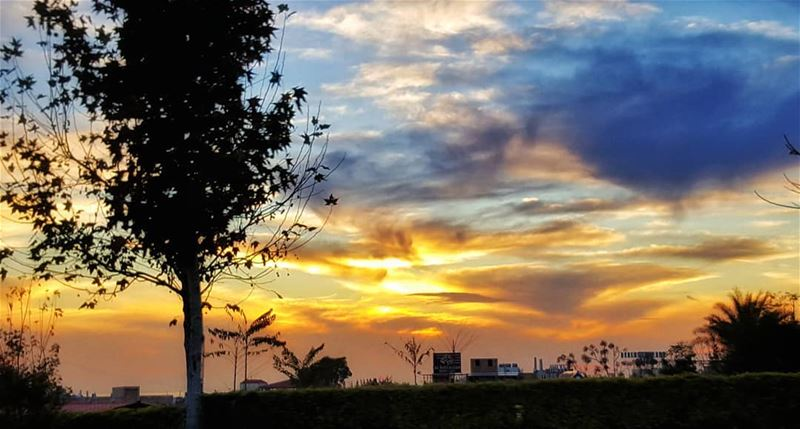 Every day can end beautifully sunset landscape lebanoninapicture ... (Byblos - Jbeil)