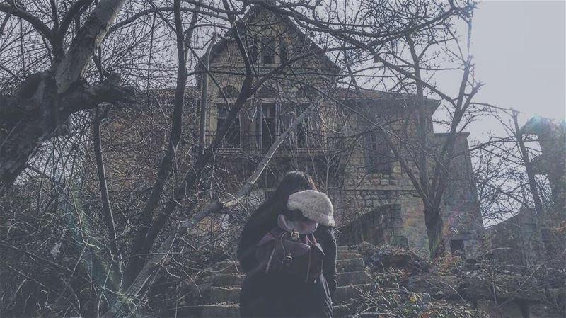 🏚••••••• cold wintertime hauntedhouse goingup exploring ...