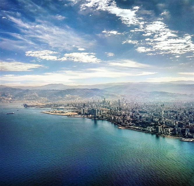 Swooping In aerial landscape skyporn landing windowseat avgeek ... (Beirut, Lebanon)