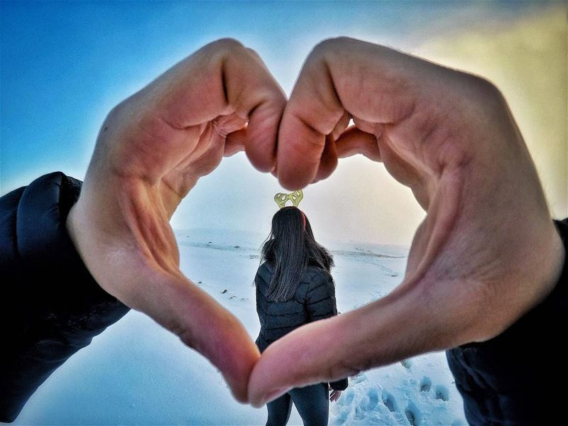 To more love. Not just in 2018, but every single day of our lives 💙💚 (Faraya, Mont-Liban, Lebanon)