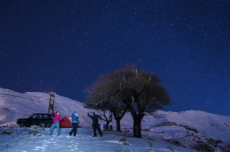 How to stay warm 101: Dance💃🚶Join us in our hike to Jabal Moussa on... (Lebanon)