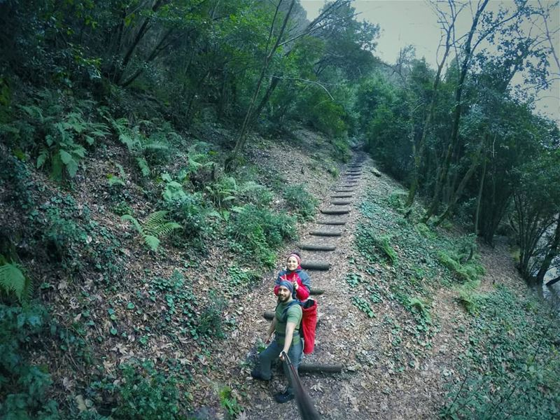 An adventure is 50% fun, 10% risk and 30% physical effort🍃🚶 notafact...