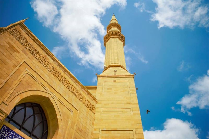 Peace... mosque beirut downtown peace ... (Downtown Beirut)