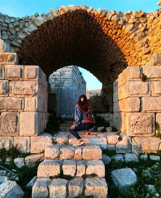 And we are back ! By @katherineotrakji----------------------------------- (Smar Jubayl, Liban-Nord, Lebanon)