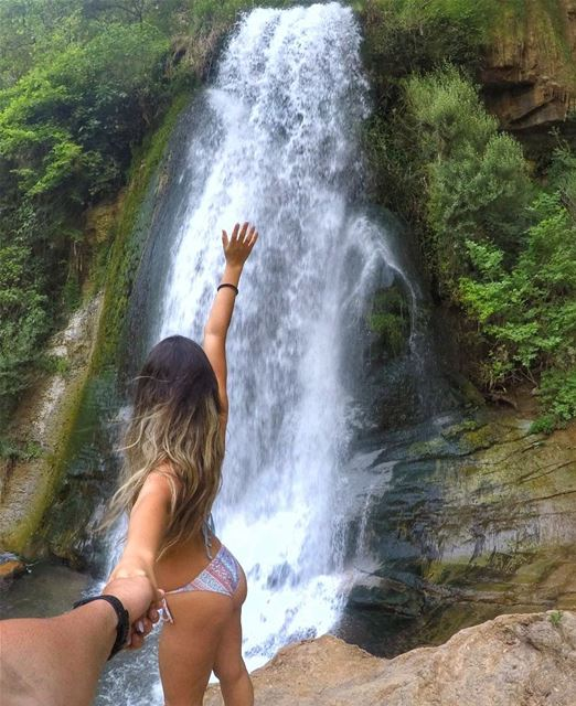 When you are searching for a stream and you end up finding a waterfall ... (nahr-kfarhelda)