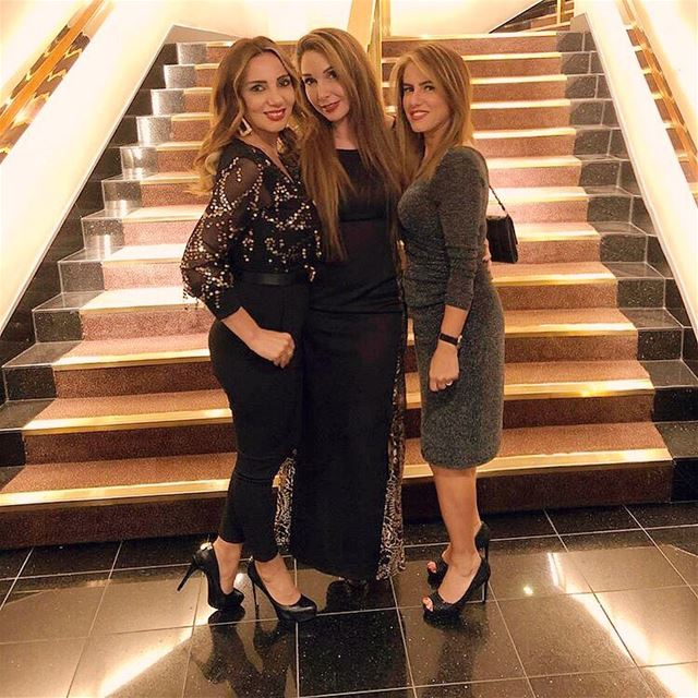 With my lovely friends At The Royal Garden HotelGWC Annual Fundraising...