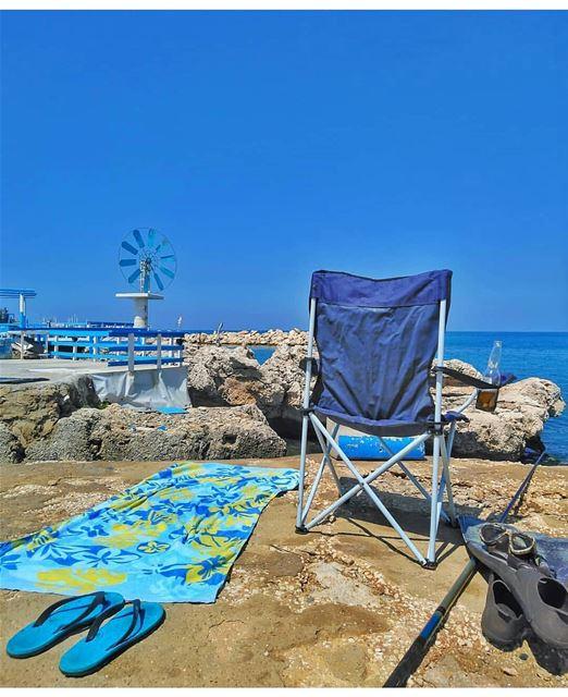 What a perfect day to go to the beach @hilalsfarjalani-------------------- (Anfeh Al-Koura أنفه الكورة)