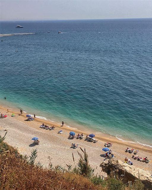 The sea 🌊 is calling 💙 peterwenmaken ...... morning sea ... (Lebanon)