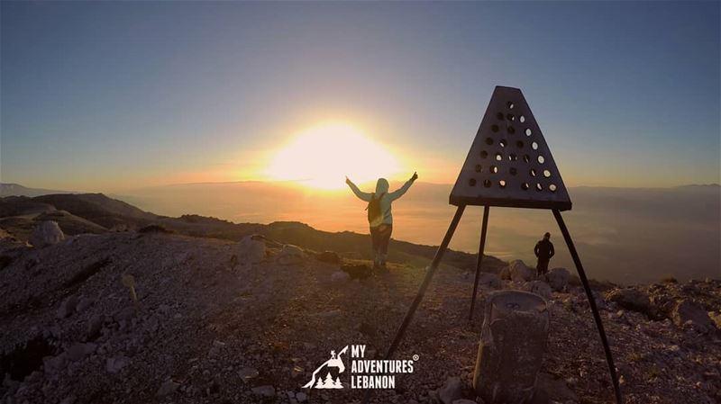 Up ☝ myadventureslebanon lebanon sunrise ...