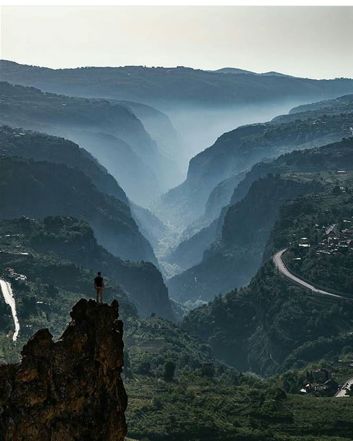 Layers... By @mikhaelbitar------------------------------------------------ (Kadisha Valley)