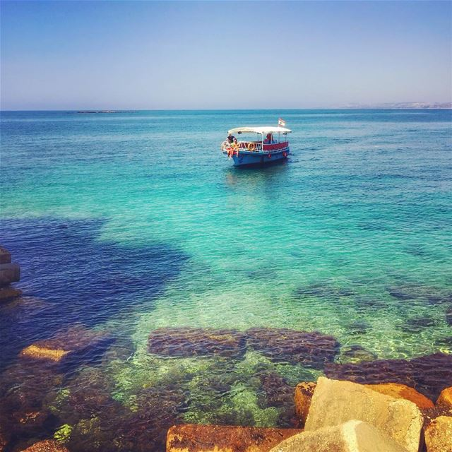 """""""Man cannot discover new oceans unless he has the courage to lose sight of... (Tyre, Lebanon)"""