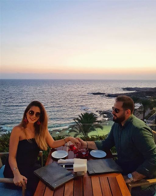 """"""" ... can't take my eyes off of you ...""""💎.... couple love ... (Mövenpick Hotel & Resort Beirut)"""