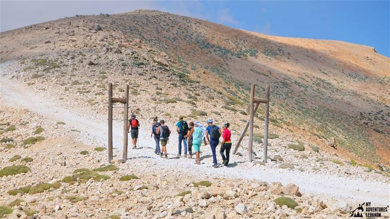 Entering the gates of no man's land (Cornet el Sawda)🚶🗻 ...