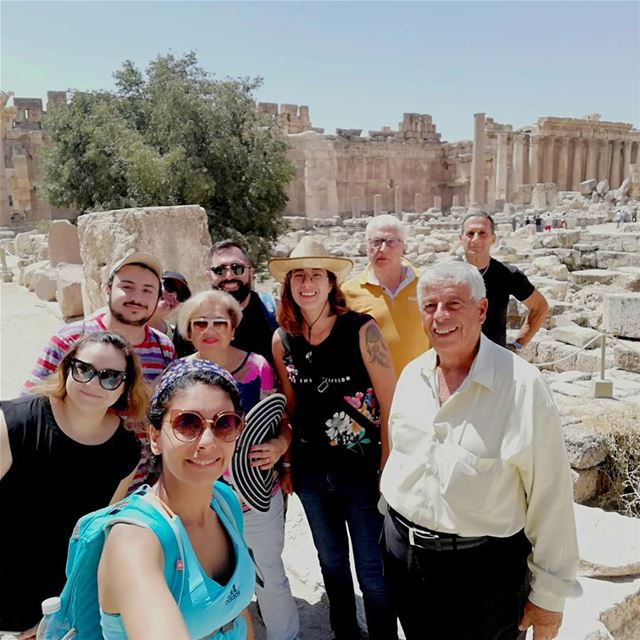 Lovely day at baalbek with lovely group from canada🇨🇦 privatetour ...