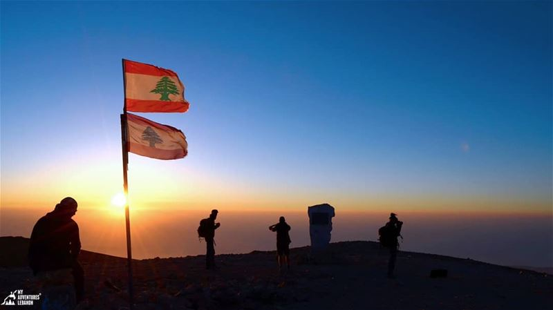 From the top of Lebanon🌅 myadventureslebanon lebanon hikinglife ...