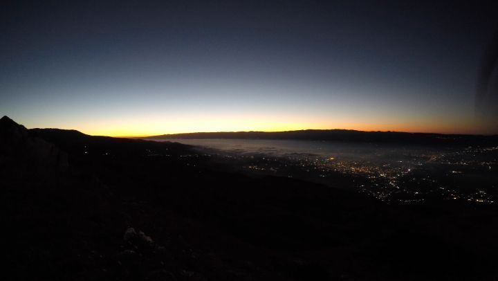 Sunrise from Mt.Knayseh🌄 We are hiking there on the 14th of October🚶Check