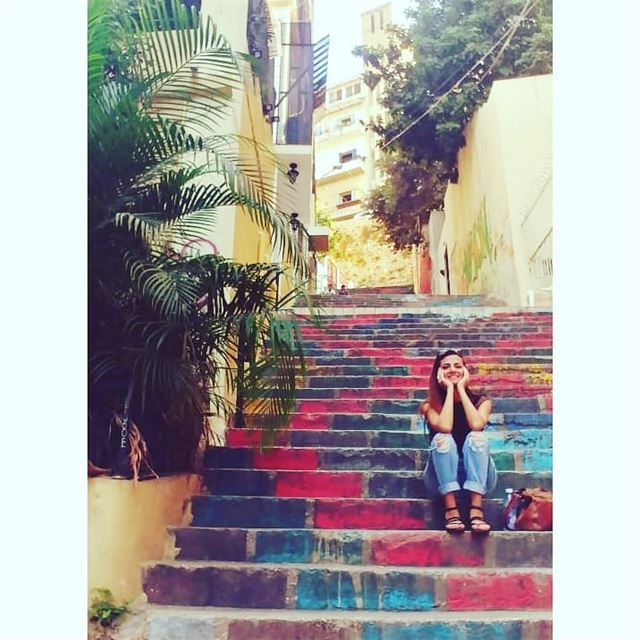 Credits @meray_ha livelovebeirut marmikhael livelovemarmikhael ... (Beirut, Lebanon)
