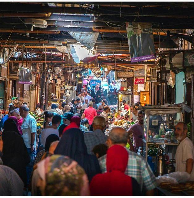 Crowded souk ! by @mickaelphilippe---------------------------------------- (Tripoli, Lebanon)