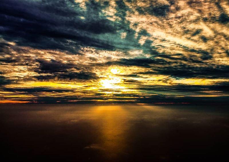 Sunset from up above ig_worldphoto ig_dynamice nature landscape ...