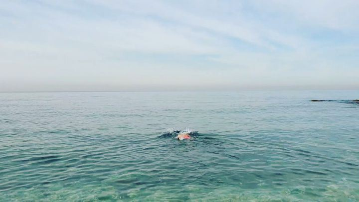 swimming swimmingsea swimmingday halat ... (Halat, Mont-Liban, Lebanon)